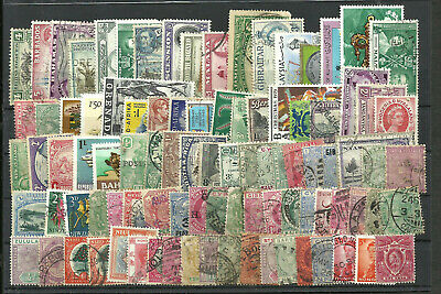 British Colonies 90 Different Stamps Lot, Vf