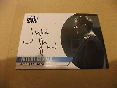 Julian Glover Jg2 Autograph Card The Saint Series 1 Roger Moore Unstoppable