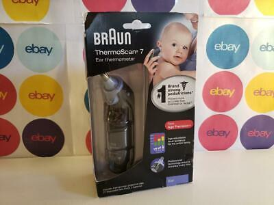 Braun ThermoScan 7 IRT6520 Professional Baby-Adult Digital Ear Thermometer READ