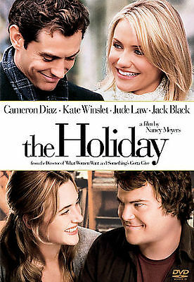 The Holiday (DVD, 2007)-Cameron Diaz,Kate Winslet,Jack Black