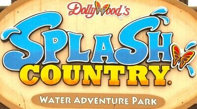 2 Tickets to Dollywood Splash Country Water Park, Good until 9/2/19