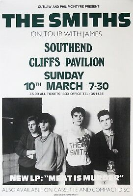 """The Smiths Cliffs Southend 16"""" x 12"""" Repro Promo  Poster"""