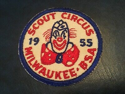 ICOLLECTZONE Milwaukee Council 1955 Scout Circus Patch (B500)