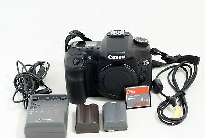 Canon EOS 40D 10.1MP Digital SLR Camera Body Only LOW SHUTTER COUNT 4GB CARD