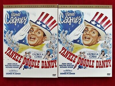 """Like New 2 Disc Special Edition Titled """"Yankee Doodle Dandy""""  James Cagney"""