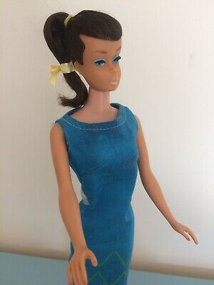 Vintage Barbie  Brunette Swirl Ponytail