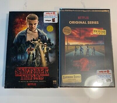 Stranger Things Season 1/2 Blu-ray Brand New
