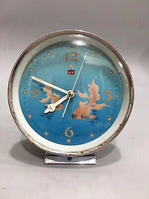 Chinese During the Cultural Revolution goldfish Mechanical watch Clock Tables