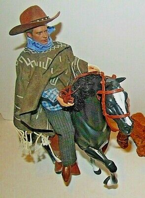 back to the future part 3  marty mc fly on horses doll 12 inch siz