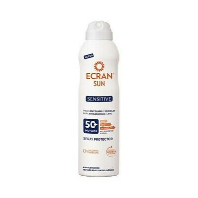 Zon Protector Spray Sensitive Ecran SPF 50+ (250 ml)