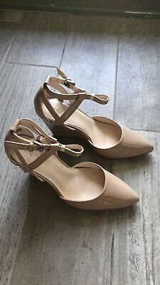 2020 top design modern style NINE WEST WOMENS Nude Closed Toe Wedge Pumps 7.5 New ...