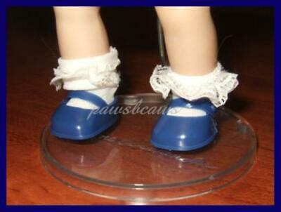 ROYAL BLUE Vogue Authorized Reproduction Doll SHOES fit GINNY Ginger Muffie