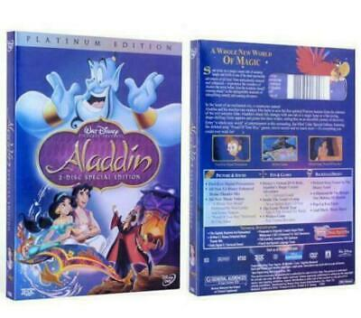 New Aladdin DVD 2-Disc Set Special Edition Animated Robin Williams Movies