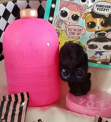 Lol Surprise FUZZY PET JIVIN KAT ❤ Makeover Series! NEW, AUTHENTIC & BAGS SEALED