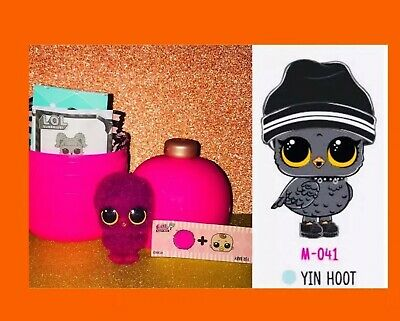 Lol Surprise FUZZY PET YIN HOOT ❤ Makeover Series! NEW, AUTHENTIC & BAGS SEALED