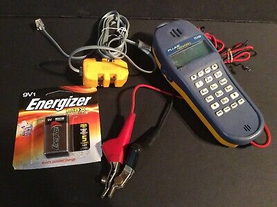 Fluke Networks TS25D With Banjo-6, Used