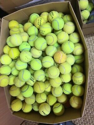 30 Used Tennis Balls - Nice And Clean. No Need To Be Washed 😀
