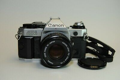 Canon AE-1 Program Camera with FD 50mm f/1.8 lens