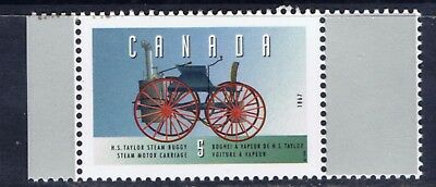 Canada #1605a 1996 5 cent Vehicles H.S. TAYLOR STEAM BUGGY (1867) MNH