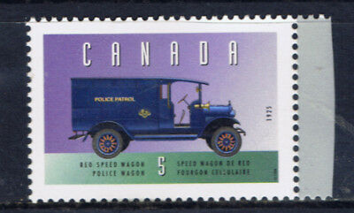 Canada #1605d 1996 5 cent Vehicles REO POLICE WAGON (1925) MNH
