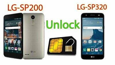 Remote Unlock LG Tribute Dynasty SP200 & LG X Charger SP320 Sprint Boost Mobile