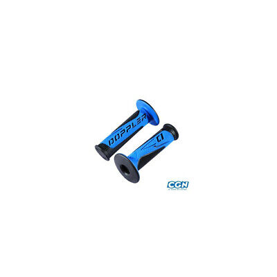 Revetement/poignee doppler grip radical noir/bleu(pr)