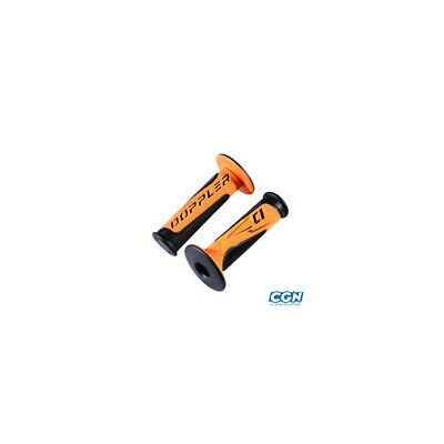 Revetement/poignee doppler grip radical noir/orange(pr)