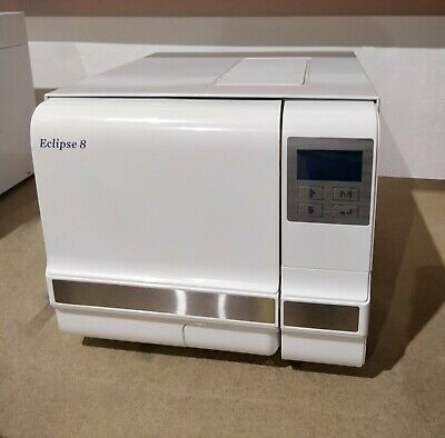 Eclipse 8LB Autoclave- Manufacturer Refurbished-Certification Included RRP £2280