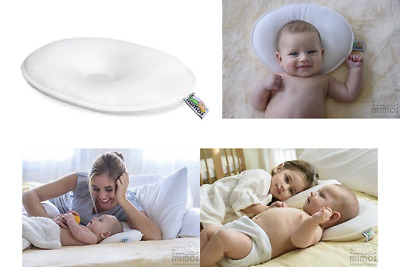 Plagiocephaly M-SIZE Mimos Baby Pillow For Flat Head Air Flow Safety Medical