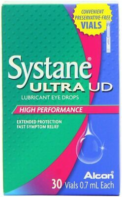 Systane Ultra UD High Performance Lubricant Eye Drops - 30 x 0.7ml