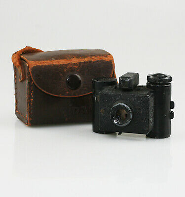SIDA Subminiature Camera c.1938 with Original Sida Camera Case (YZ7)
