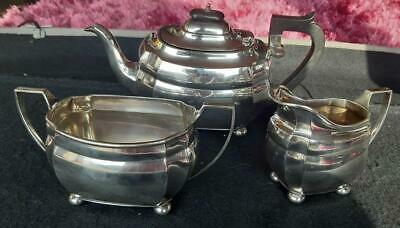 """Vintage Mappin & Webb """"Prince's Plate"""" Silver Plated Tea Set"""