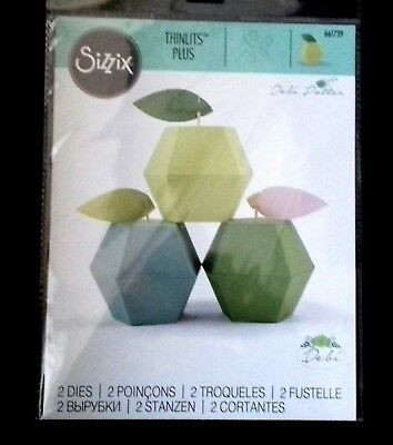 Sizzix Die Cutter  Thinlits Apple Box 661739 Fits Big Shot Plus & Big Shot Pro