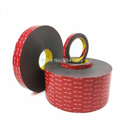 1 Roll 3M VHB 5952 Double Sided Acrylic Foam Adhesive Tape Heavy Duty Mounting