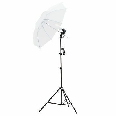 New Photography Umbrella Lighting Kit Studio Light Bulb Muslin Backdrop Stand