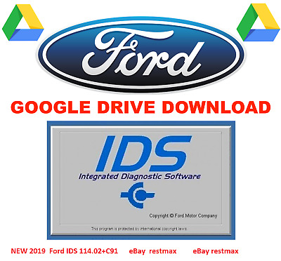 NEW FORD IDS 114 02 & calibration 91 Native installation 2019 Latest  7/8/2019