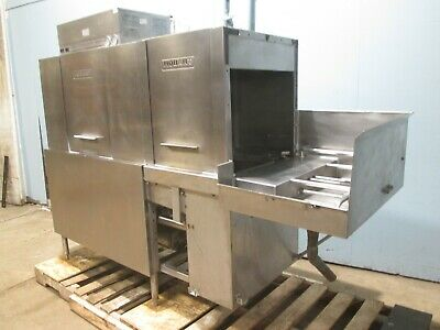 """HOBART CRS-66A"" H.D. COMMERCIAL 3Phase ELECTRIC HIGH TEMP CONVEYOR DISHWASHER"