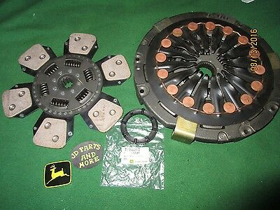 "New Agvantage John Deere 13"" 6 Button Diaphram Clutch Set Al64948 Models Below"