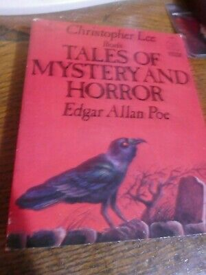 Christopher Lee Reads Tales Of Mystery And Horror By Edgar Allan Poe Audio Cass