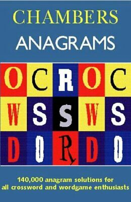 Chambers Anagrams, , Used; Good Book