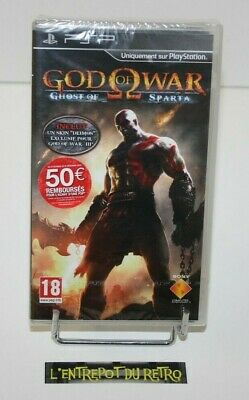 ++ jeu sony PSP GOD OF WAR : ghost of sparta NEUF sous blister ++
