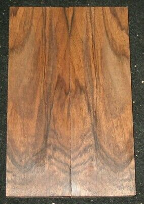 Marbled English Walnut Lumber Knife Scales Handles Grips Set
