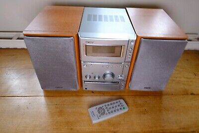 Sony Cmt-Cpx1 Executive Microsystem With Cd Player Cassette Recorder Radio Tuner