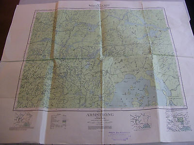 Vintage Canada Department of Mines and Resources Surveys & Engineering Map