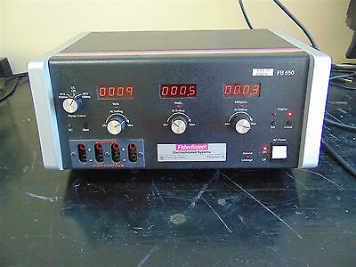 Fisher Biotech Electrophoresis Systems FB 6550 Power Supply-Powers Up~SR219y