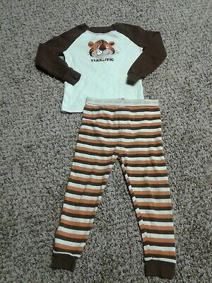 Toddler Boy 3T Long Sleeve Tiger Shirt Faded Glory