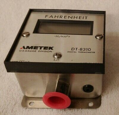 Ametek DT-8310 Type K Digital Thermometer -50 To 450f Untested