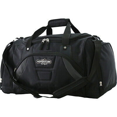 "Travelers Club Luggage 20"" Adventure Multi Pocket Gym Duffel NEW"