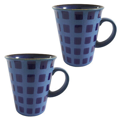 2 x Denby Reflex Mugs - large mugs - 2nd quality