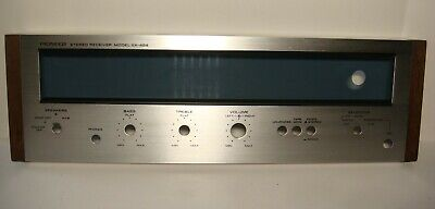 Vintage Pioneer Faceplate part for SX-424 Stereo reciever Near mint Condition!